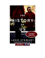 The History of Us by Leah Stewart--start reading today pot
