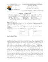 Đề thi HSG khu vực Bắc Bộ năm 2012 Môn Tin 10 pptx