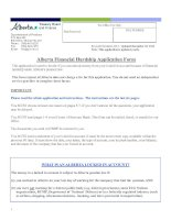 Alberta Financial Hardship Application Form doc