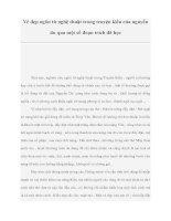 Vẻ đẹp ngôn từ nghệ thuật trong truyện kiều của nguyễn du qua một số đoạn trích đã học pdf