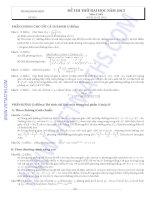 Tài liệu ôn thi ĐH CĐ môn toán doc