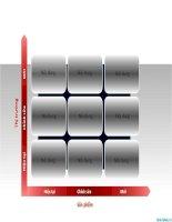 biểu đồ powerpoint ma trận đánh giá rủi ro, risk assessment matrix chart