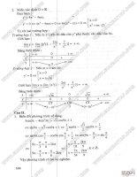 30 đề luyện thi đại học môn toán - giới thiệu các đề thi thử và dự bị -part2