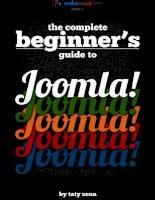The Complete Beginner's Guide to Joomla