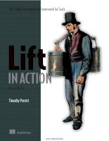 Lift in Action: The Simply Functional Web Framework for Scala potx