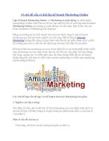 10 chủ đề cần có khi lập kế hoạch Marketing Online pdf