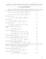Chương 12 - Tính gần đúng đạo hàm và tích phân xác định pdf