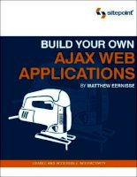 sitepoint build your own ajax web applications (2006)