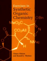 Exercises in Synthetic Organic Chemistry pdf