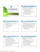 Công nghệ phần mềm - Chương 3 thiết kế hệ thống pptx