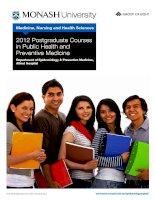 2012 Postgraduate Courses in Public Health and Preventive Medicine potx