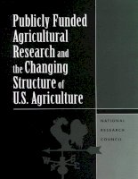 Publicly Funded Agricultural Research and the Changing Structure of U.S. Agriculture doc