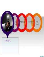 văn bản powerpoint vòng tròn - mẫu biểu đồ liệt kê sự kiện, circle text boxes in powerpoint