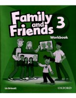 Family and Friend 3 Workbook doc