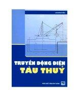Giáo trình truyền động điện tàu thủy pdf