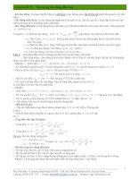 Chuyên đề 01 : Đại cương dao động điều hoà pptx
