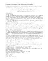 QUY TRÌNH KỸ THUẬT THI CÔNG VÀ NGHIỆMTHU LỚP MÓNG CẤP PHỐI ĐÁ DĂM TRONG KẾT CẤU ÁO ĐƯỜNG Ô TÔ 22 TCN 334 – 06 potx