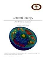 General biology chapter i