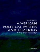 American Political Parties and Elections: A Very Short Introduction potx