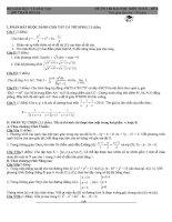 đề tham khảo ôn thi đại học môn toán đề (8)