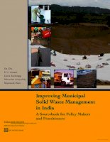 improving municipal solid waste management in india a sourcebook doc