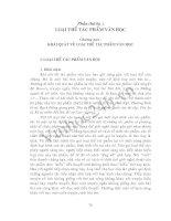 Phần 3: Chương 1: Văn bản ngôn từ của tác phẩm và lời văn nghệ thuật - Lý luận văn học ppt