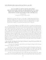 SỰ CẦN THIẾT VÀ NHỮNG HƯỚNG KHAI THÁC KHI VẬN DỤNG HỌC THUYẾT GIÁ TRỊ THẶNG DƯ CỦA C.MÁC TRONG QUÁ TRÌNH XÂY DỰNG NỀN KINH TẾ THỊ TRƯỜNG ĐỊNH HƯỚNG XÃ HỘI CHỦ NGHĨA Ở VIỆT NAM HIỆN NAY ppt