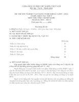 đề thi thực hành tốt nghiệp cao đẳng nghề khoá 3 - điện tàu thủy - mã đề thi đtt - th (12)