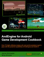 AndEngine for Android Game Development Cookbook docx