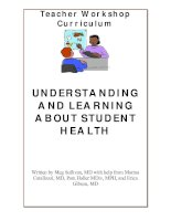 UNDERSTANDING AND LEARNING ABOUT STUDENT HEALTH pptx