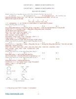 CHUYÊN đề 3 bài tập  HIĐROCACBON KHÔNG NO