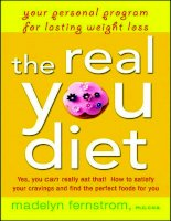 The Real You Diet Your Personal Program for Lasting Weight Loss pptx