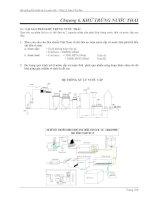 Chương 6 khử trùng nước thải