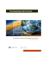The Greenhouse Gas Protocol: A Corporate Accounting and Reporting Standard pdf
