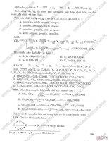 Ôn tập và hệ thống hóa nhanh giáo khoa - Hóa hữu cơ sơ đồ phản ứng hóa học - quan hán thành Part2