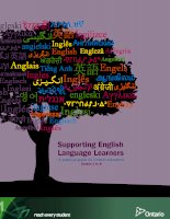 Supporting English Language Learners A practical guide for Ontario educators ppt