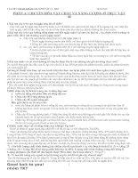 TÀI LIỆU THAM KHẢO môn SINH VẬT 11 doc