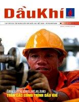Tăng cường giám sát an toàn trên các công trình dầu khí pot