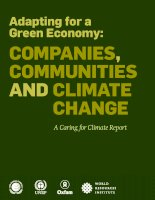 Adapting for a Green Economy: Companies, Communities and Climate Change docx