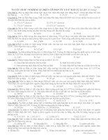 700 câu trắc nghiệm vật lý về tụ điện