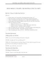 KỊCH BẢN DOANH NGHIỆP ẢO -  TÌM HIỂU THỊ TRƯỜNG CƯỚC TÀU BIỂN VÀ CHUẨN BỊ LÀM THỦ TỤC HẢI QUAN
