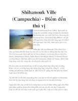 Shihanouk Ville (Campuchia) - Điểm đến thú vị pot