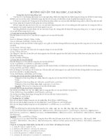 Chuyên đề luyện thi đại học - cao đẳng: ôn thi môn English trong quá trình ôn thi đại học (Full)