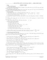 Tài liệu bồi dưỡng học sinh giỏi môn Vật lý
