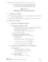 Chuyên đề luyện thi đại học môn Vật lý