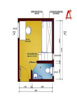 Thiết kế và bố trí phòng trẻ diện tích 3,3 x 3,7 m ppt