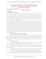 CẢI TIẾN MỘT SỐ PHƯƠNG PHÁP GIÚP HỌC SINH GIỎI LỚP 5 NHẬN BIẾT VÀ SỬ DỤNG  CÂU ĐÚNG NGỮ PHÁP