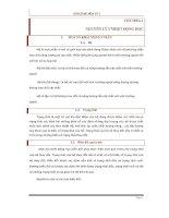 Bài giảng hóa lý 1
