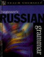 teach yourself beginner''s russian grammar