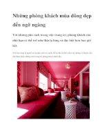 Những phòng khách mùa đông đẹp đến ngỡ ngàng potx